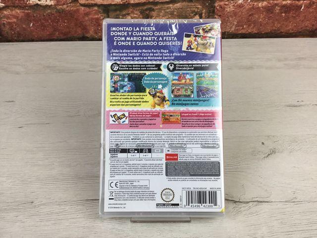 Juego Nintendo Switch Súper Mario Party