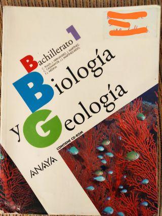 libro biología geología 1º bachillerato
