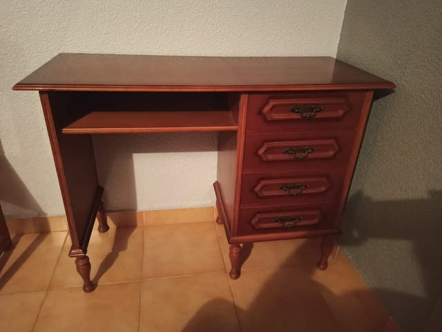 Estructura cama 80 y escritorio