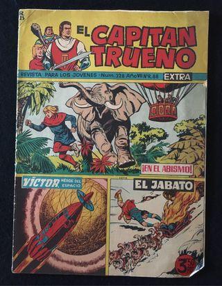 El Capitan Trueno Extra, N° 328, bruguera