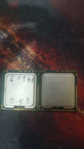 Lote 2 procesadores Intel Xeon E5540 socket 1366