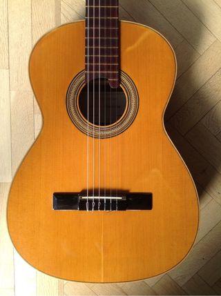Guitarra Manuel Contreras de los 80