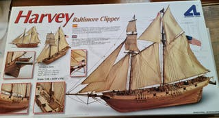 "Maqueta de barco ""HARVEY BALTIMORE CLIPPER"""