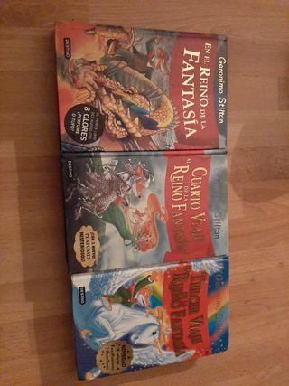 Pack 3 libros geronimo stilton