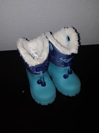 botas de nieve n° 20/21