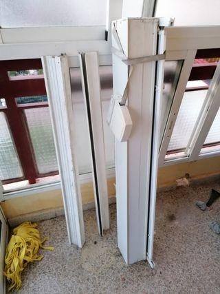 perciana de aluminio blanco