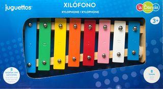 Xilófono musical infantil