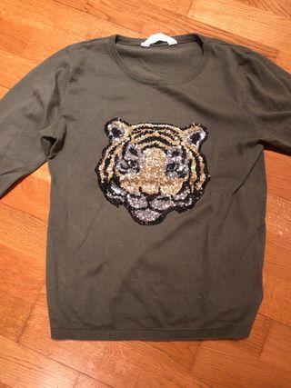 Jersey finito con tigre