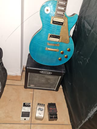 guitarra Epiphone Less Paul gold custom edition