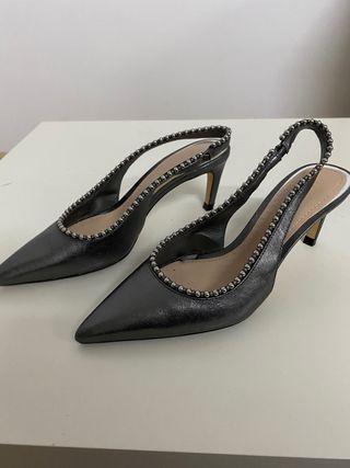 Zapatos Tacón mediano Zara