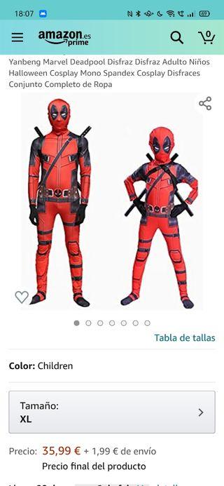 Disfraz de Deadpol