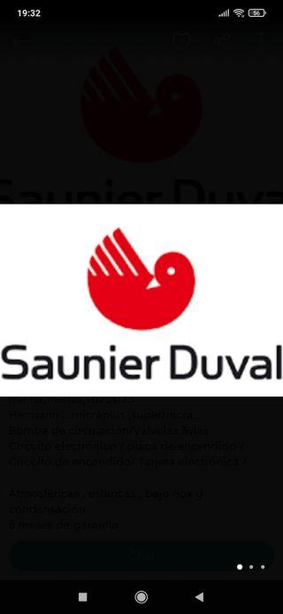 REPUESTOS DE CALDERAS SAUNIER DUVAL