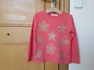Camiseta de niña de Sfera, talla 4-5.