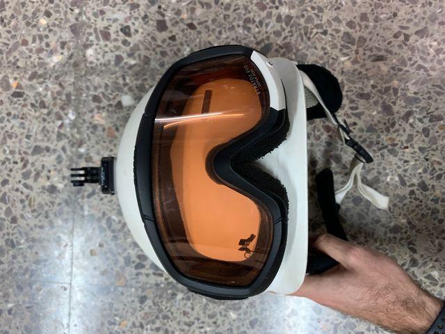 Casco k2 + gafa carrera y accesorio gopro