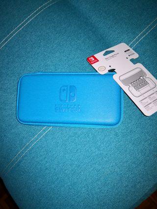 funda rígida Nintendo switch Lite NUEVA