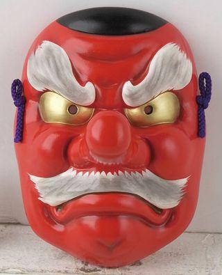 máscara japonesa Tengu
