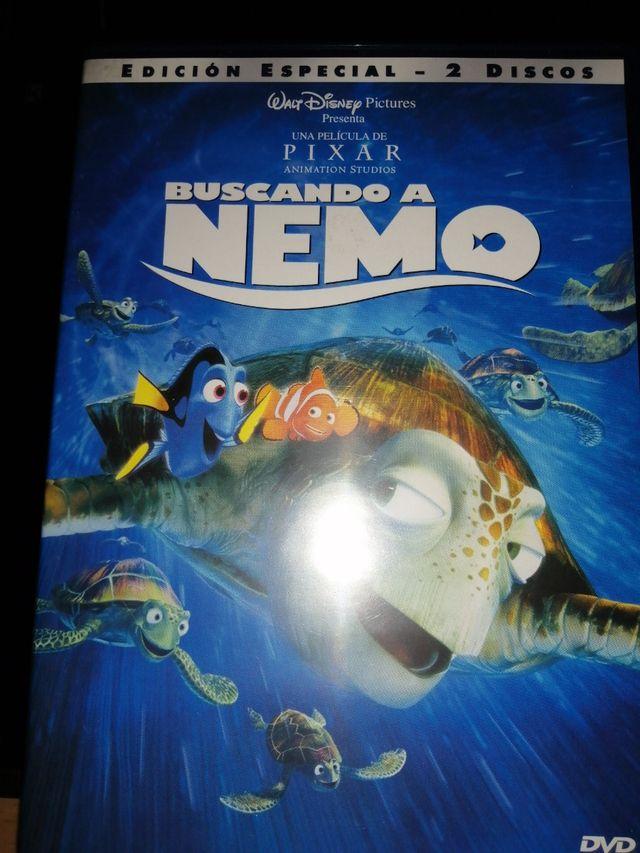 Lote de películas Pixar en DVD.