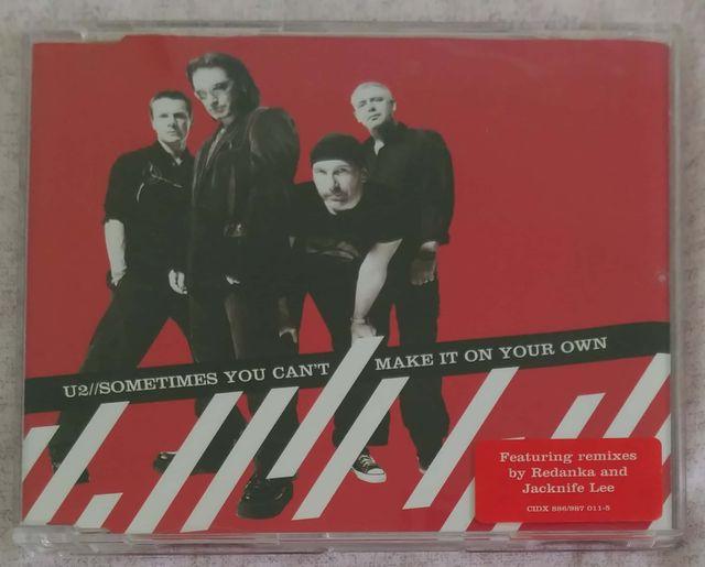 U2 (SOMETIMES YO CAN'T MAKE IT ON..) CD SINGLE