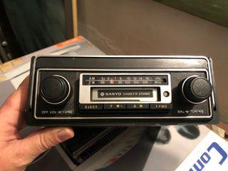 Radio cassette SANYO de coche