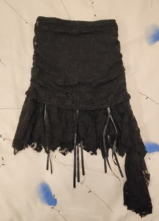Falda goth victoriana nueva con etiqueta talla M