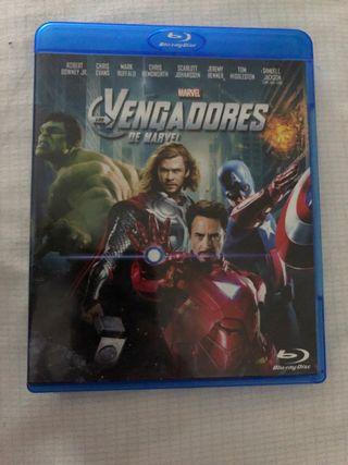 Película 'Los Vengadores' en Bluray