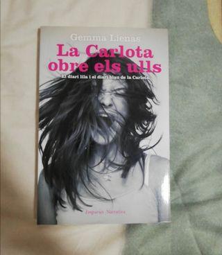 """Libro """"La carlota obre els ulls"""""""