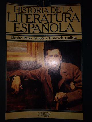 coleccion de revistas de la literatura española