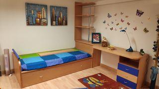 Vendo dormitorio juvenil con escritorio