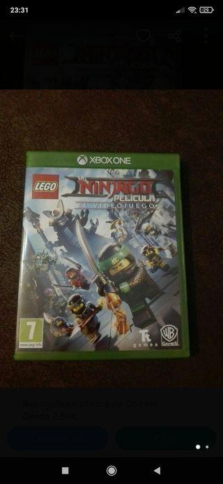 JUEGO XBOX ONE, LEGO ninjado