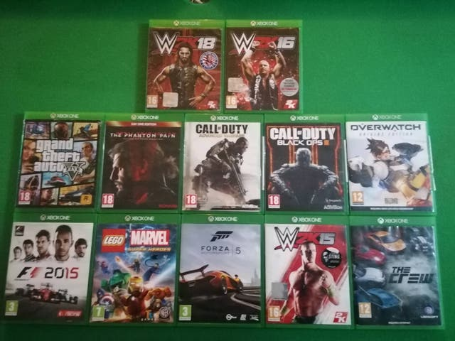 12 XBOX ONE GAMES