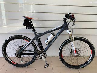 Bicicleta Ghost se9500 como nueva