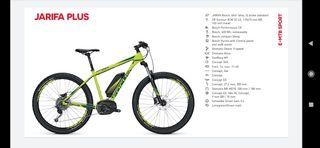 Bicicleta electrica Focus Jarifa plus 27'5+ 500Wh