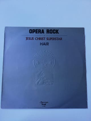 Vinilo Opera Rock Hair Jesus Christ Superstar
