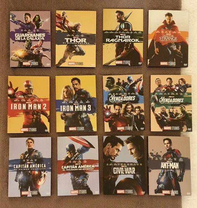 Películas Marvel DVD