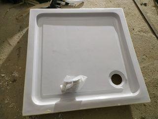 plato de ducha de poliéster de 90x90 nuevo