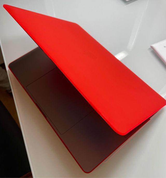 Funda para MACBOOK Pro 15'' rojo