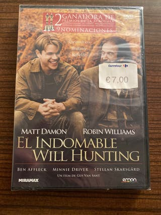 El Indomable Will Hunting DVD