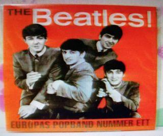 THE BEATLES - CD CONCIERTO SUECIA