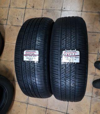 2 neumáticos 235/55-18 100H BRIDGESTONE ECOPIA