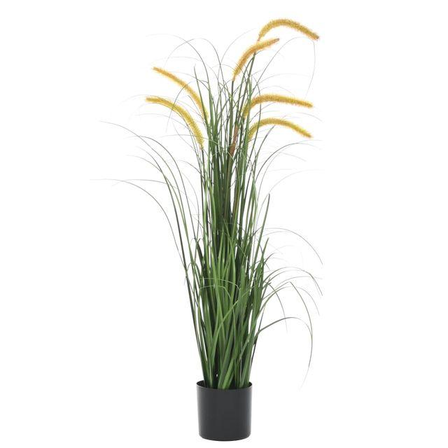 Planta de hierba artificial con espadaña 110 cm