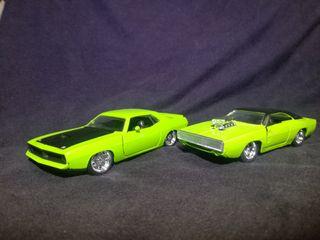 2 coches americanos 1:32
