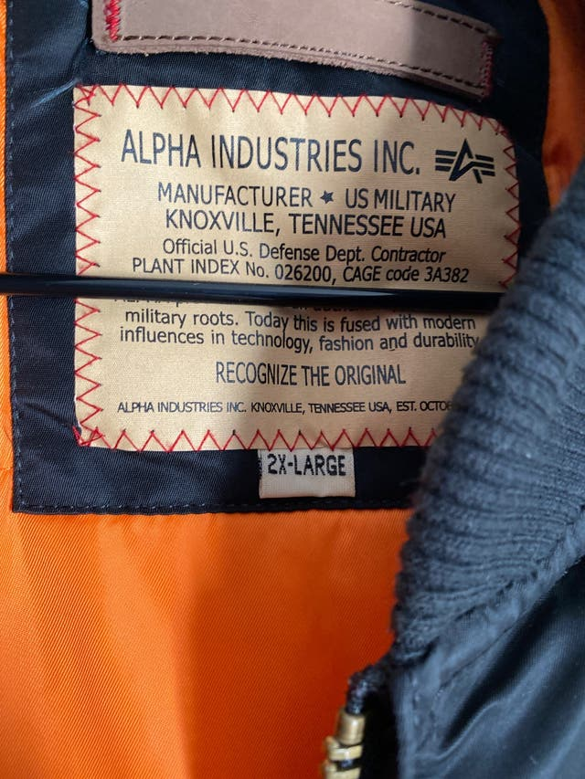 Cazadora Alpha industries