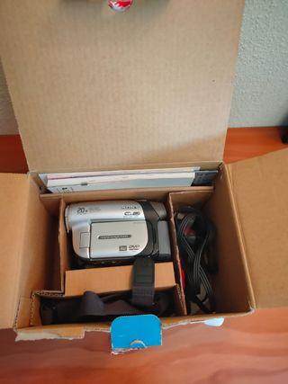 Video cámara Sony dcr dvd92e