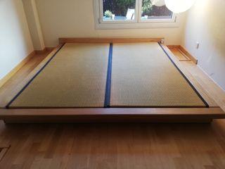 Tatami Japones. Cama Dormitorio.