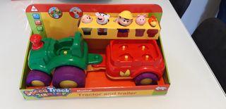 Tractor juguete
