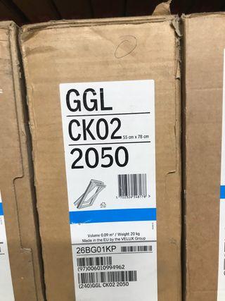 Ventana de techo VELUX GGL CK02 2050