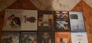 colección de películas.