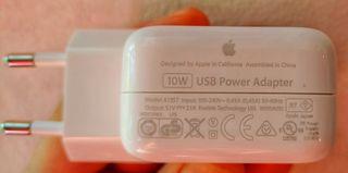 Apple Cargador 10W USB Original. Perfecto