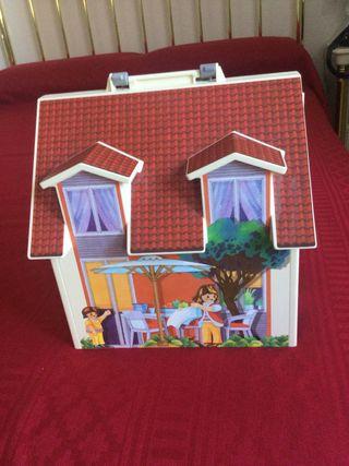 Casa de muñecas, maletin