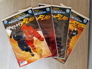 BATMAN / FLASH LA CHAPA COMPLETA 1+2+3+4 GRAPA ECC